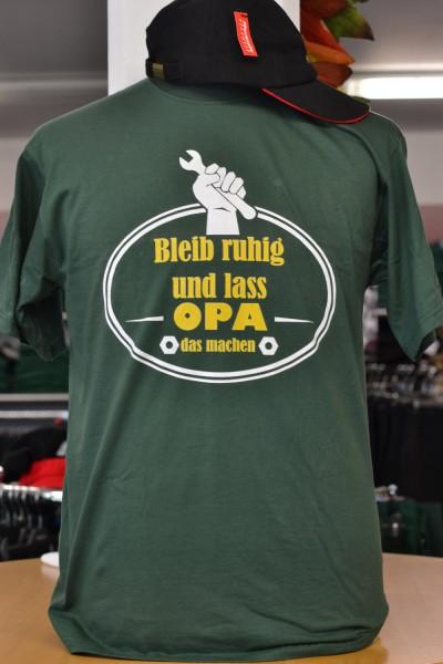 """T-Shirt """"Bleib ruhig"""""""