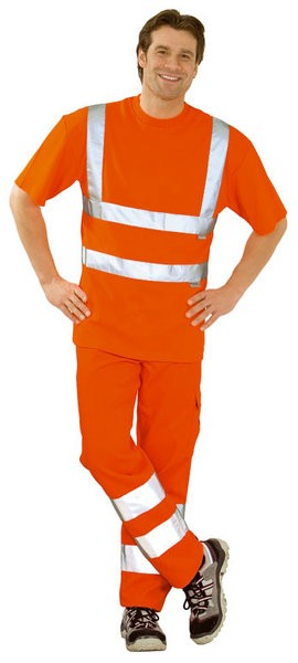 Warnschutz T-Shirt, uni