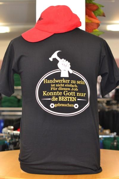 """T-Shirt """"Handwerker zu sein..."""""""