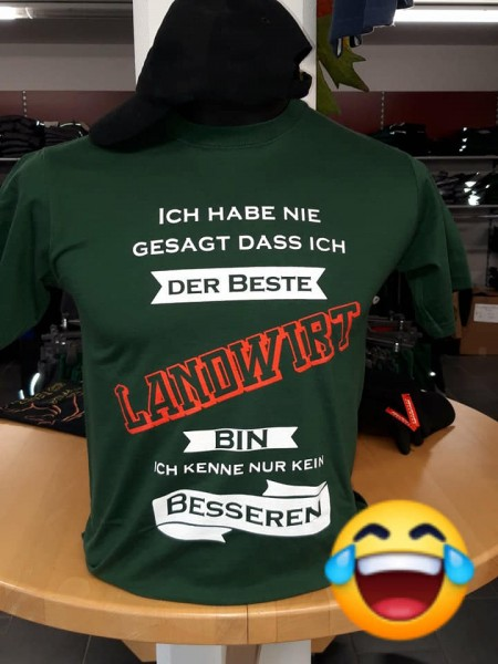 Fun T-Shirt Landwirt