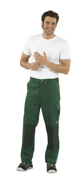 Canvas Cordura Bundhose grün