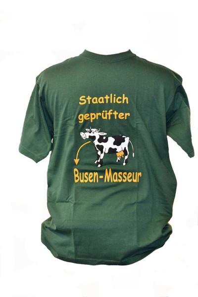 """T-Shirt """"Staatlich geprüfter Busen-Masseur"""""""