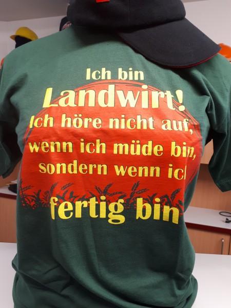 Fun T-Shirt Ich bin Landwirt...