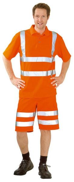 Warnschutz Polo-Shirt, uni
