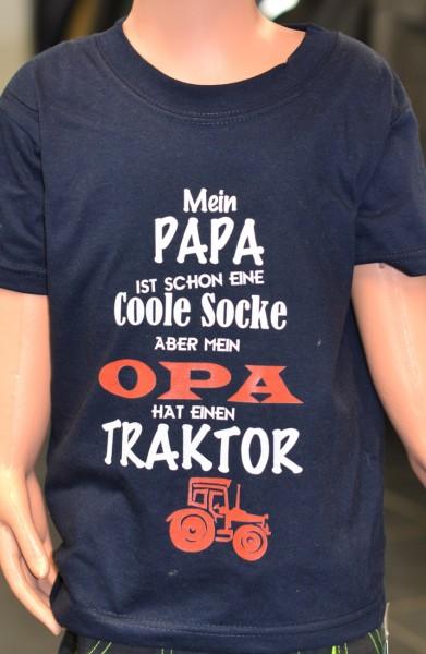 """Kinder-T-Shirt mit Aufdruck """"Mein Papa"""""""